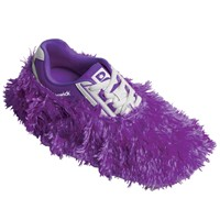 Brunswick Fun Shoe Covers Fuzzy Purple