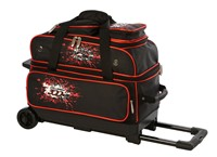Columbia Team C300 2 Ball Roller Black/Red Bowling Bags