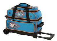 Columbia Team C300 2 Ball Roller Blue/Orange Bowling Bags