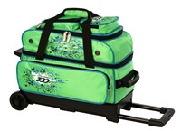 Columbia Team C300 2 Ball Roller Green/Blue Bowling Bags