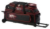 Columbia Team C300 3 Ball Roller Black/Red Bowling Bags