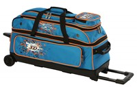 Columbia Team C300 3 Ball Roller Blue/Orange Bowling Bags