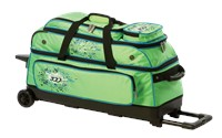 Columbia Team C300 3 Ball Roller Green/Blue Bowling Bags