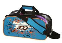 Columbia Classic 2 Ball Tote Blue/Orange/Black Bowling Bags