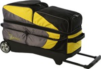 Track Premium Player 3 Ball Roller Yellow/Grey Bowling Bags