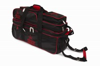 Roto Grip 3 Ball Tote/Roller Black/Red Bowling Bags