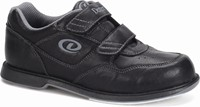 Dexter Mens V-Strap Black Bowling Shoes