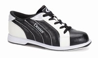 Dexter Womens Groove II Black/White Wide Width Bowling Shoes