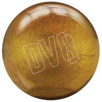 DV8 Polyester Glitter Gold with Free Bag Bowling Balls