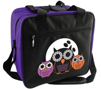 Classic Owls Single Tote Bowling Bags