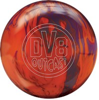 DV8 Outcast Mango Tango with Free Bag Bowling Balls