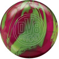 DV8 Outcast Melon Baller with Free Bag Bowling Balls
