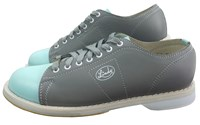 Linds Womens Classic SE Grey/Aqua Right Hand Bowling Shoes
