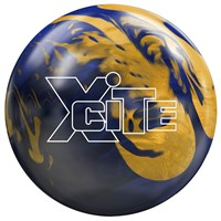 AMF Xcite Blue/Gold Bowling Balls