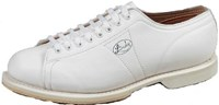 Linds Womens Classic White RH Wide Width - ALMOST NEW Bowling Shoes