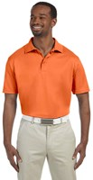 Harriton Mens 4 oz Polytech Polo Orange