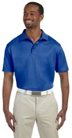 Harriton Mens 4 oz Polytech Polo Royal