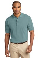 Port Authority Mens Pique Knit Sport Seafoam