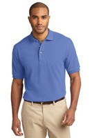 Port Authority Mens Pique Knit Sport Blueberry