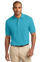 Port Authority Mens Pique Knit Sport Turquoise