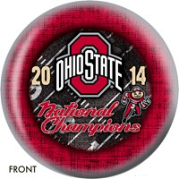 KR Ohio State Buckeyes 2014 NCAA Football Champs Bowling Balls