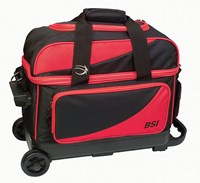 BSI Prestige Double Ball Roller Red/Black Bowling Bags