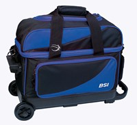 BSI Prestige Double Ball Roller Blue/Black Bowling Bags