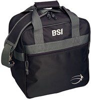 BSI Solar II Single Tote Black/Grey Bowling Bags