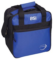 BSI Solar II Single Tote Black/Royal Bowling Bags