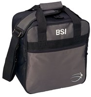 BSI Solar II Single Tote Black/Charcoal Bowling Bags