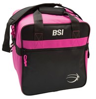 BSI Solar II Single Tote Black/Pink Bowling Bags