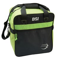 BSI Solar II Single Tote Black/Lime Bowling Bags
