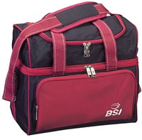 BSI Taxi Single Tote Black/Red Bowling Bags