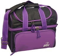 BSI Taxi Single Tote Black/Purple Bowling Bags