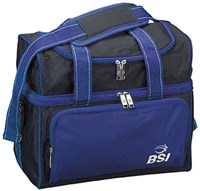 BSI Taxi Single Tote Black/Royal Bowling Bags