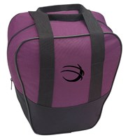 BSI Nova Single Tote Purple/Black Bowling Bags