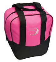 BSI Nova Single Tote Pink/Black Bowling Bags