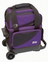BSI Prestige 1 Ball Roller Black/Purple Bowling Bags