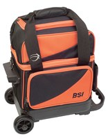BSI Prestige 1 Ball Roller Black/Orange Bowling Bags
