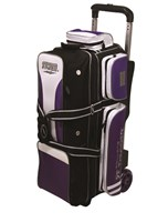 Storm Rolling Thunder 3 Ball Roller Purple/Black/White Bowling Bags