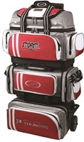 Storm Rolling Thunder 6 Ball Roller Red/Grey/White Bowling Bags