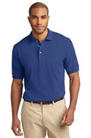 Port Authority Mens Pique Knit Sport Royal