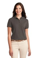Port Authority Womens Silk Touch Polo Shirt Bark