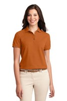 Port Authority Womens Silk Touch Polo Shirt Texas Orange