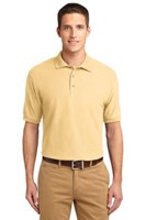 Port Authority Mens Silk Touch Polo Shirt Banana