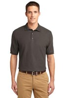 Port Authority Mens Silk Touch Polo Shirt Bark