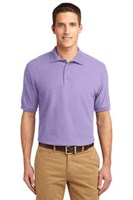 Port Authority Mens Silk Touch Polo Shirt Lavender