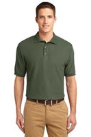 Port Authority Mens Silk Touch Polo Shirt Clover Green