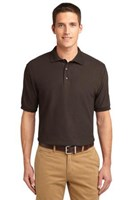 Port Authority Mens Silk Touch Polo Shirt Coffee Bean