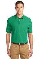 Port Authority Mens Silk Touch Polo Shirt Court Green